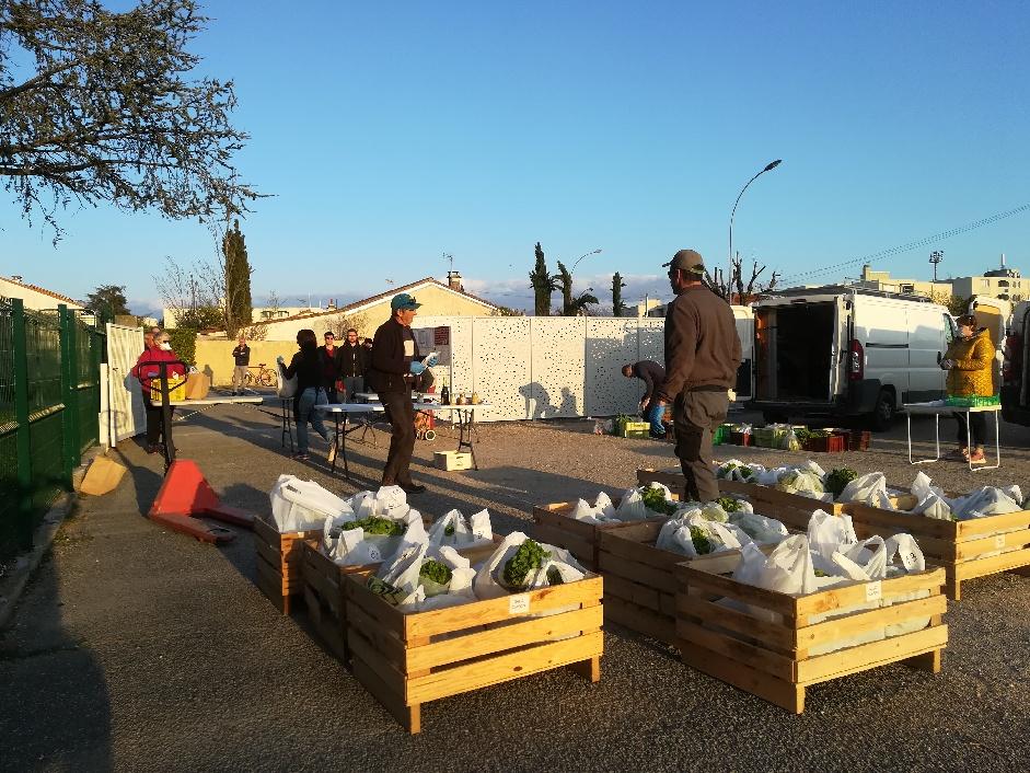 Produits frais et locaux : les livraisons s'organisent