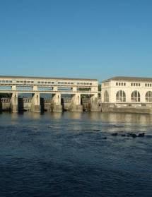Pizançon, la Vanelle, deux barrages sur l'Isère