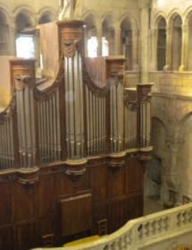 Quatuor de saxophones et orgue