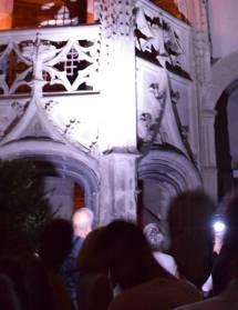 Visite à la torche de l'hôtel de Clérieu
