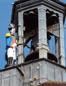 Tour Jacquemart : visite du chantier de restauration