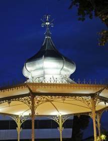 Circuit restaurer le patrimoine : kiosque, champ de Mars, Tour Jacquemart