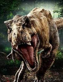 T-Rex, Vélociraptor, Tricératops, Ptéranodons