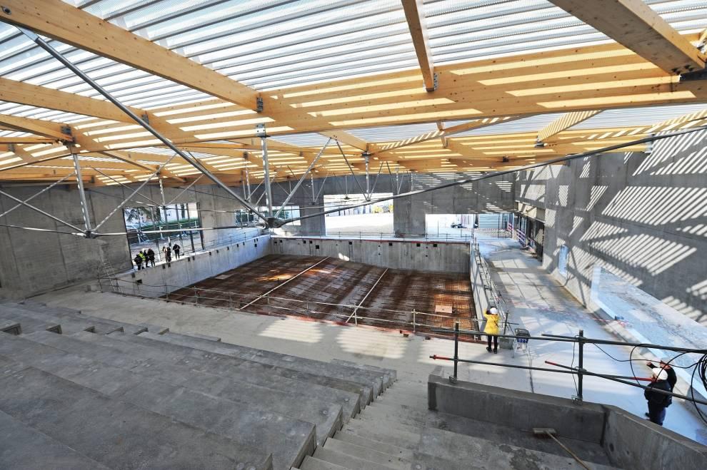 Une piscine dernière génération