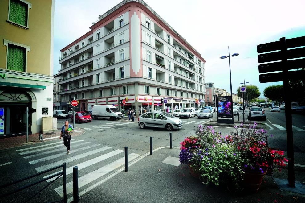 Travaux au carrefour rue Jacquemart/place Jean-Jaurès