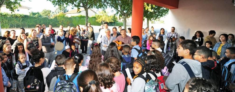 Une rentrée scolaire en chanson